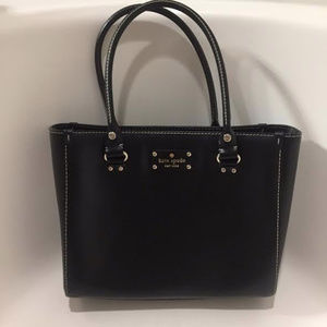 Kate Spade :Leather Tote w/ Dust Bag NWOT
